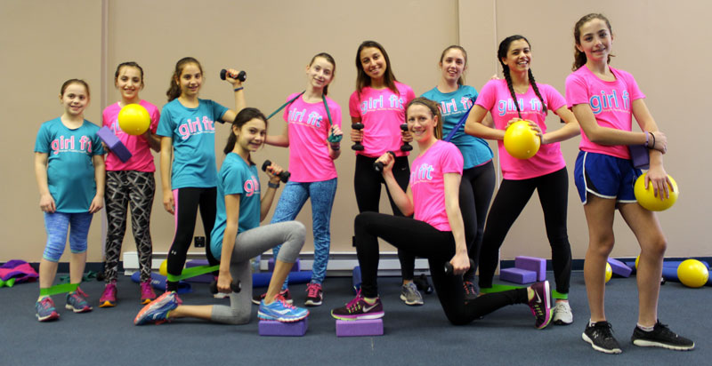 Girl Fit class in Marathon's Fitness and Wellness Studio