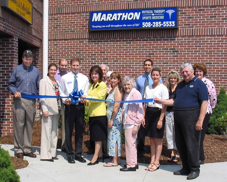 Marathon Physical Therapy's grand opening