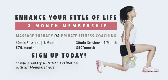 Enhance your style of life with a three month membership.