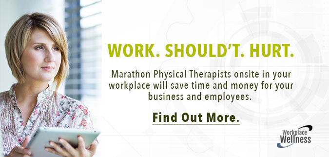 Workplace Wellness. Work shouldn't hurt. Find out more here.